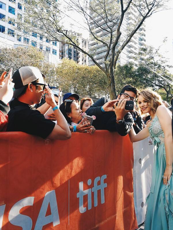 Кинофестиваль в Торонто 2017.   Рэйчел Макадамс