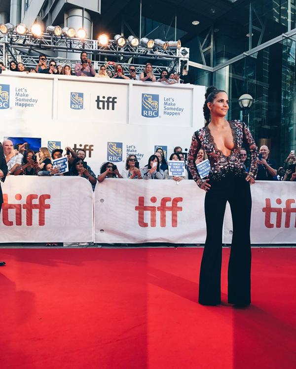 Кинофестиваль в Торонто 2017.   Холли Берри