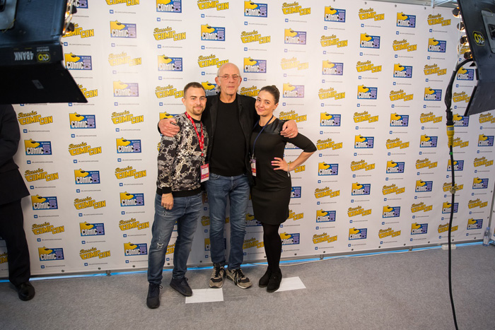 Comic Con Russia 2017.   Кристофер Ллойд