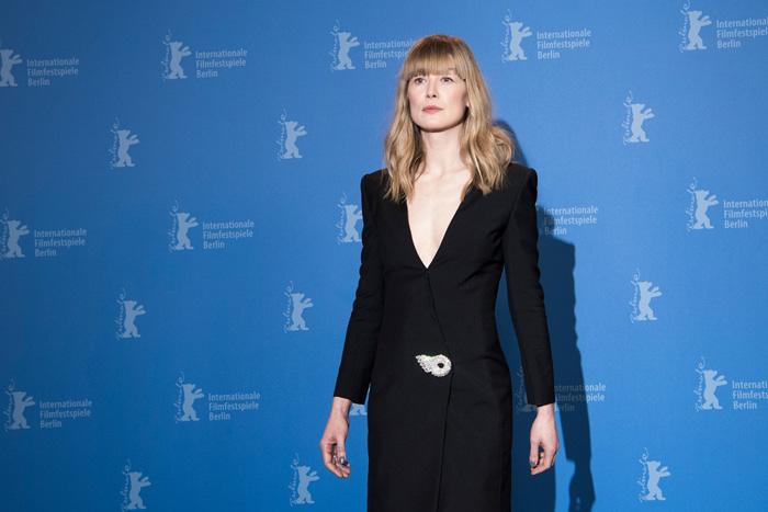 Берлинале: Берлинский кинофестиваль 2018.   Розамунд Пайк