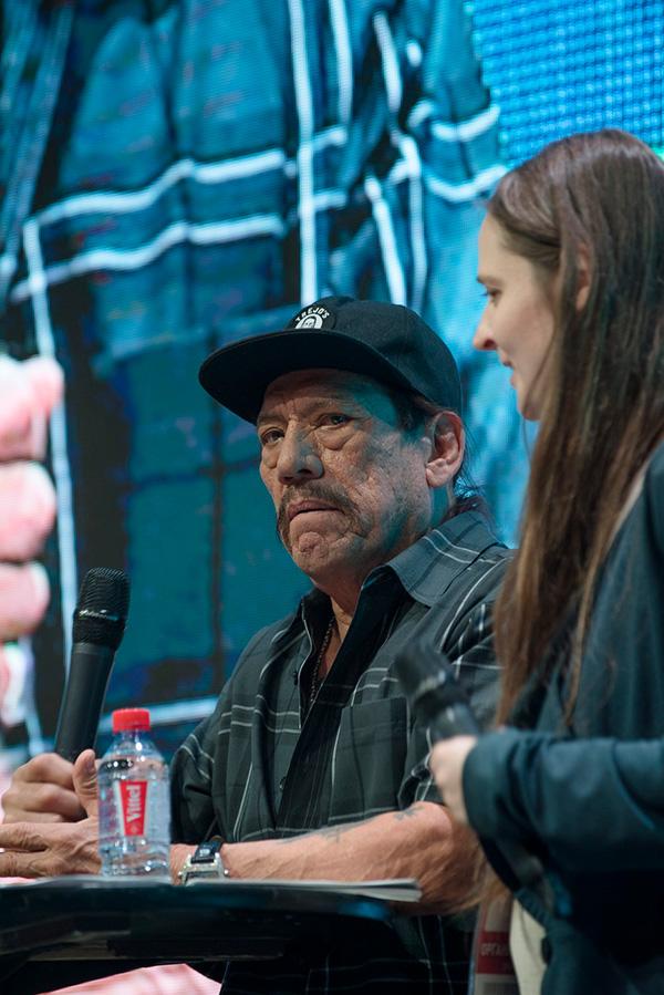 Comic Con Russia 2018.  ©   fotoezh.ru      Дэнни Трехо