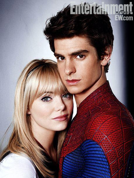 Человек-паук: Новый Человек-паук.  На фото:   Эмма Стоун  ,   Эндрю Гарфилд