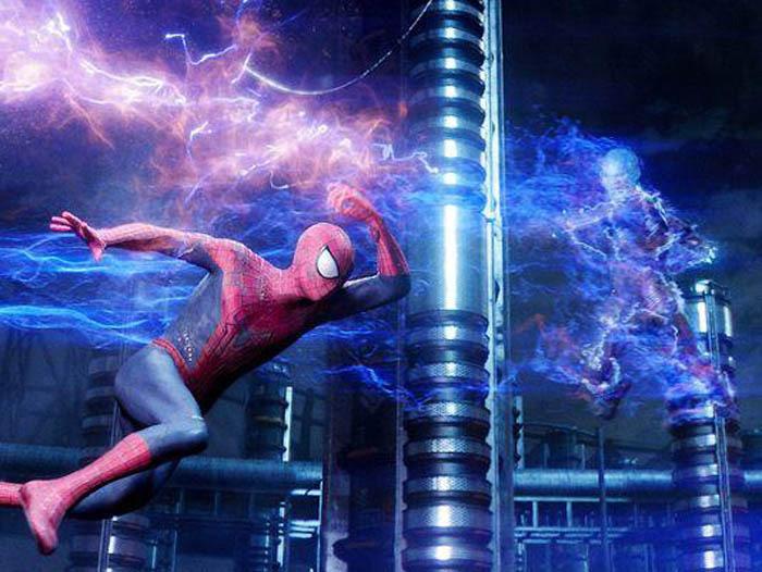 Паук новый человек паук 2 высокое