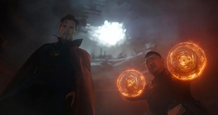 Мстители: Война бесконечности.  На фото:   Бенедикт Камбербэтч
