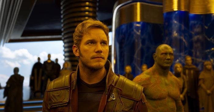"""Фотогалерея: Крис Пратт и Зои Салдана в кинокомиксе """"Стражи Галактики 2"""", кадры"""