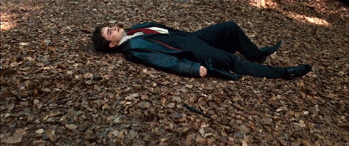 Гарри Поттер: Гарри Поттер и Дары смерти.  На фото:   Дэниел Рэдклиф
