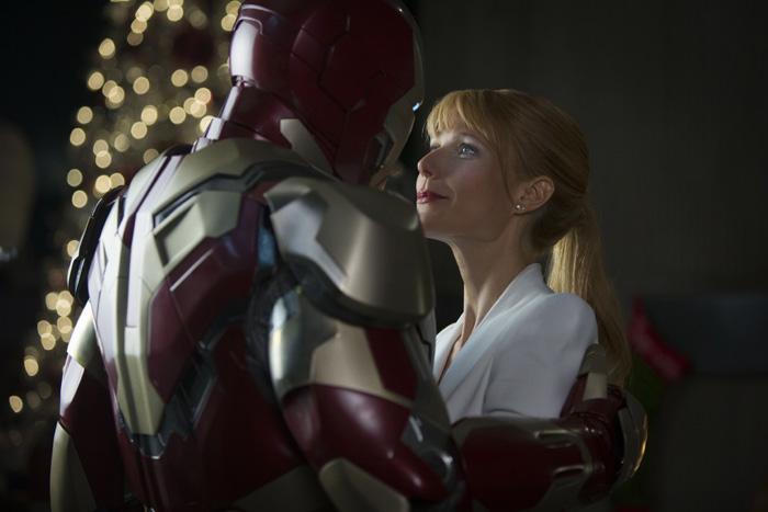 Железный человек: Железный человек 3.      На фото:   Гвинет Пэлтроу