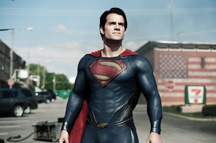 Лига Справедливости: Человек из стали.  На фото:   Генри Кэвилл