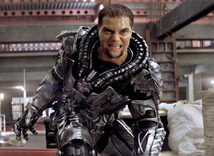 Лига Справедливости: Человек из стали.  На фото:   Майкл Шеннон