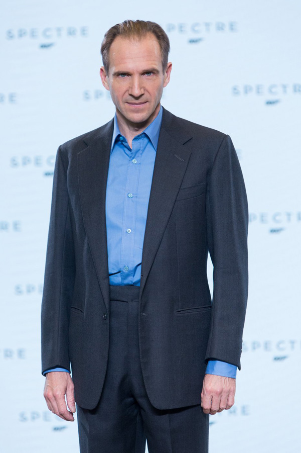 Бонд, Джеймс Бонд: 007: СПЕКТР.  На фото:   Ральф Файнс