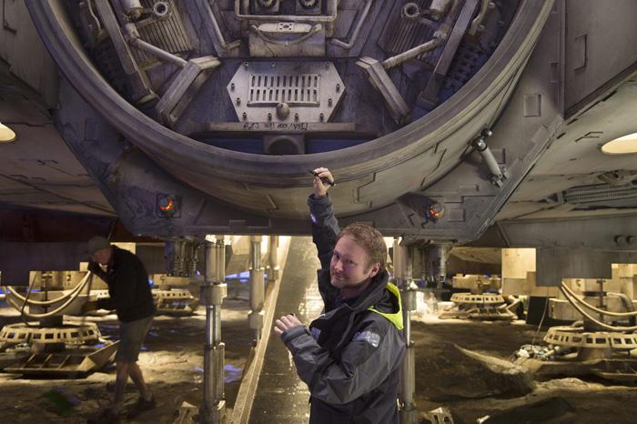 Звёздные войны: Звёздные войны: Последние джедаи.  На фото:   Райан Джонсон
