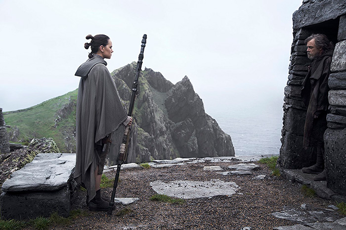 Звёздные войны: Звёздные войны: Последние джедаи.  На фото:   Марк Хэмилл