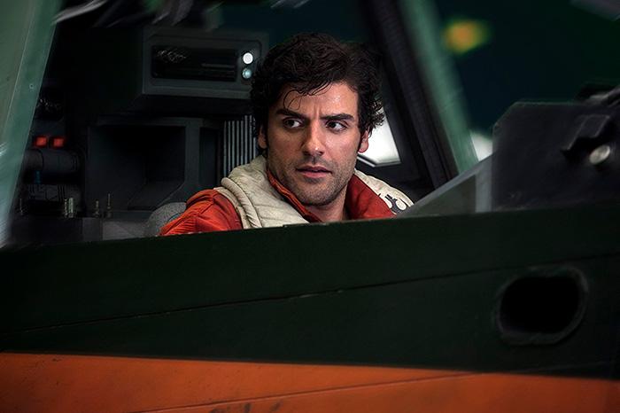 Звёздные войны: Звёздные войны: Последние джедаи.  На фото:   Оскар Айзек