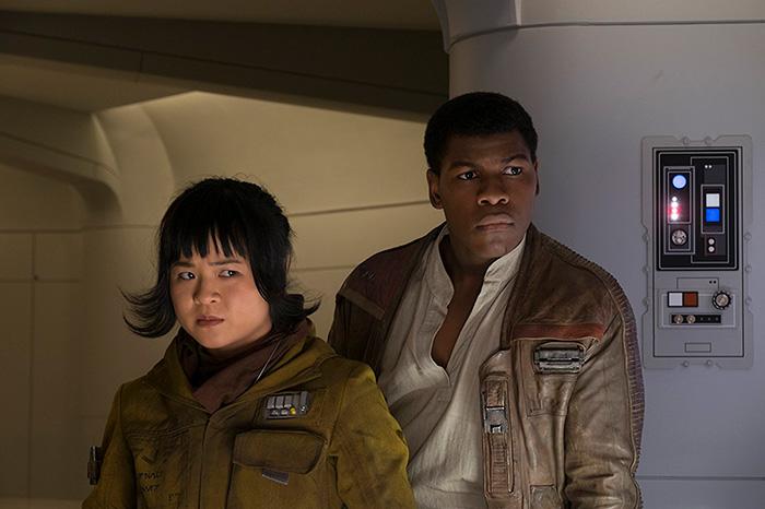 Звёздные войны: Звёздные войны: Последние джедаи.  На фото:   Джон Бойега