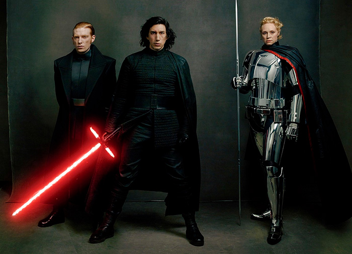 Звёздные войны: Звёздные войны: Последние джедаи.  На фото:   Адам Драйвер