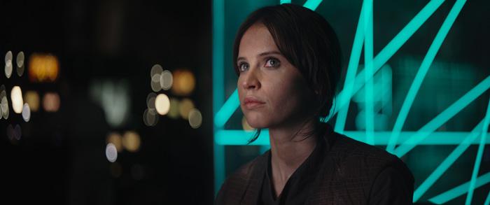 Звёздные войны: Изгой-Один. Звёздные Войны: Истории.  На фото:   Фелисити Джонс